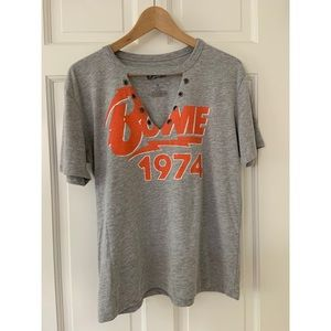 Forever 21 David Bowie Cutout T-Shirt